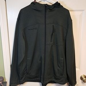 Free Country Green Hooded Fleece Lined Jacket XXL
